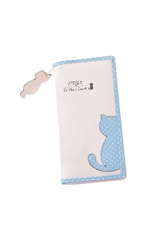 Kitty Cutesy Cat Continental Wallet