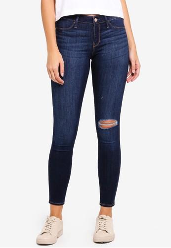 Hollister blue Legging Jeans 7F542AAE5B10C1GS_1