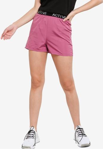ZALORA ACTIVE pink Running Shorts 1DFDEAAC69D04CGS_1