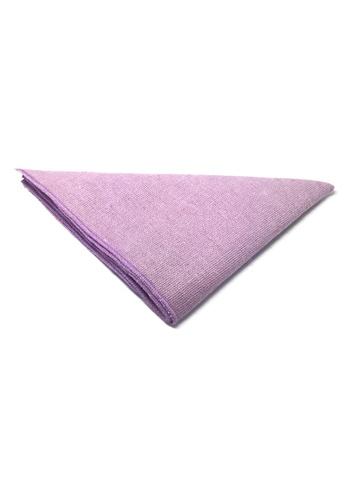 Splice Cufflinks purple Snap Series Violet Lining Violet Cotton Pocket Square   SP744AC81DKWSG_1