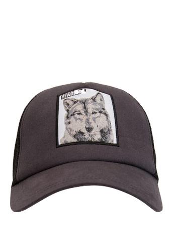 DeFacto grey Man Hat 40077AC00EC3B4GS_1