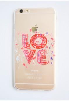 Love Transparent Soft Case for iPhone 6 plus/ 6s plus