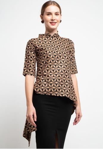 Batik First brown Blouse Stella Cut&Sew S3V TCH34 7F468AAC2EF0C6GS_1