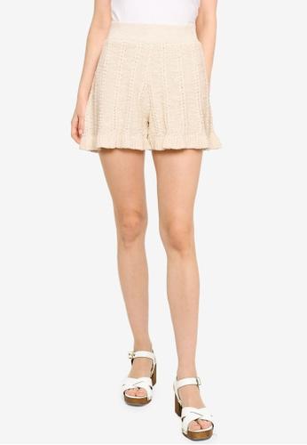 Vero Moda beige Moon NW Shorts 4EDBFAA3AD4307GS_1
