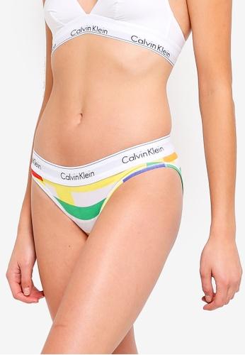 Calvin Klein multi Modern Cotton Bikini Briefs - Calvin Klein Underwear  79F6AUSEC79C4AGS 1 4cbe09411