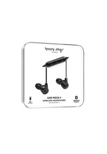 happy plugs black Happy Plugs Ear Piece II Wireless - Black/Black 5FB9AAC24FA579GS_1