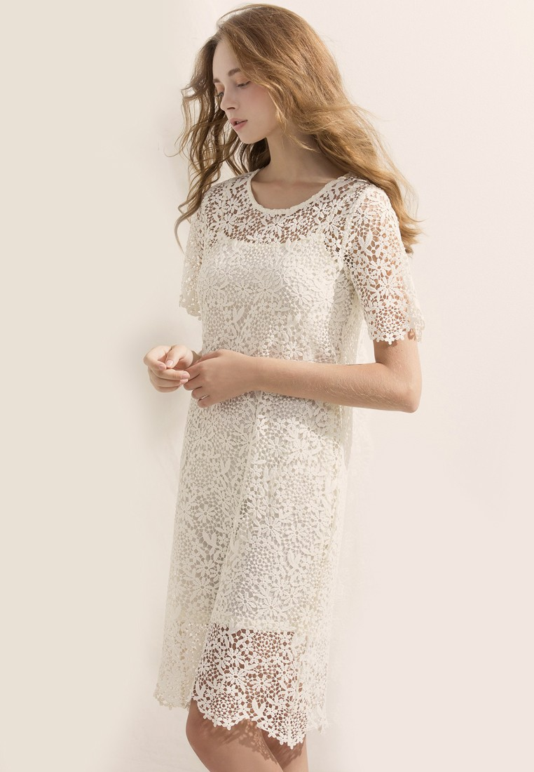 Ethereal Being Lace Dress