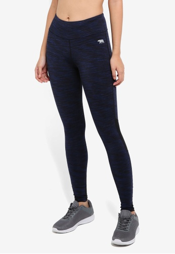 Running Bare navy Full Length Tights With Hip Pocket 501ECAA76CE78DGS_1