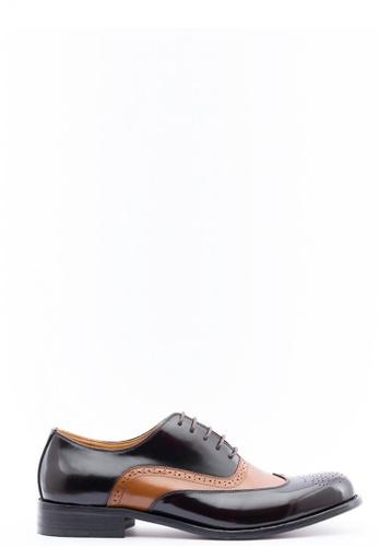 Kings Collection brown Waldo Shoes KI358SH34DGRSG_1