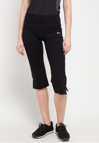 OPELON black Capri Pants 6E482AAB73F74FGS_1