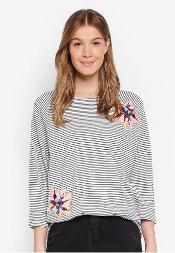 ESPRIT black Long Sleeve Sweatshirt 87874AAA0C591EGS_1