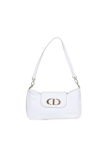 Verchini white Verchini Classic Sling Handbag 89419AC12AB476GS_1