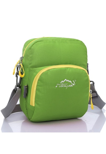 Local Lion green Local Lion Casual Sling Bag 309 (Green) LO780AC80XBFMY_1