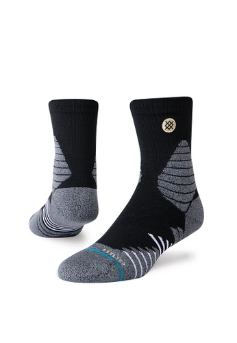 STANCE black STANCE Socks Black Icon Hoops Qtr Medium 9F6BBAAA8D9BF2GS_1
