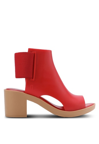 Melissa red Melissa Elastic Dance Ad Boots ME121SH62CPXMY_1