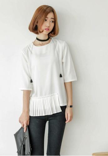 Shopsfashion white Isla White Blouse 2F94AAAE3108B0GS_1