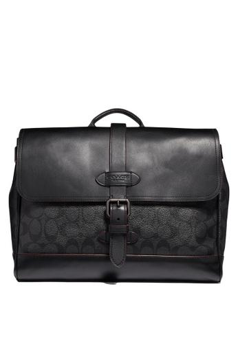 Coach black Hudson Small Messenger Bag (cv) 433BDAC2D50B54GS_1