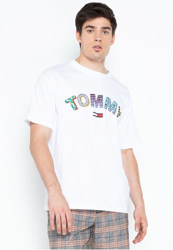 41a686cd24 Shop Tommy Hilfiger Signature Stripe Tee Online on ZALORA Philippines