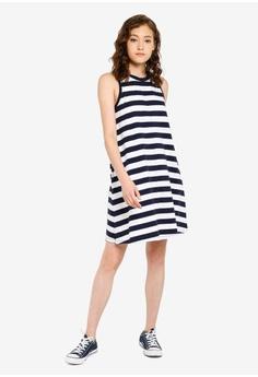 464b76482bcf3 GAP Sleeveless Swing Dress RM 153.00. Sizes XXS XS S M L