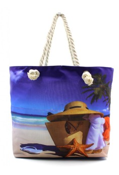 Summer Fashion Beach Tote Bag