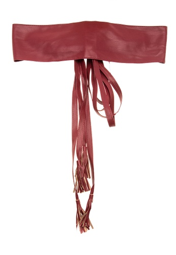 Treasure by B & D red Waist Sash Belt TR022AC0K5JVPH_1