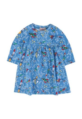 Cath Kidston blue Rockets Baby Everyday Dress DE30FKA0711D56GS_1