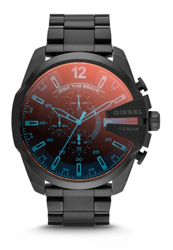 Diesel black Diesel Chief Series Chronograph Watch DI095AC0K94BPH_1