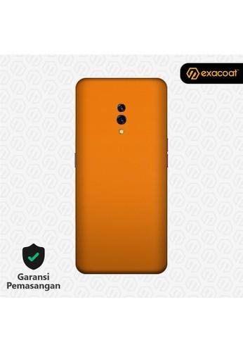 Exacoat Oppo Reno 3M Skins True Colors - Pumpkin Orange E1DD0ES03D363AGS_1