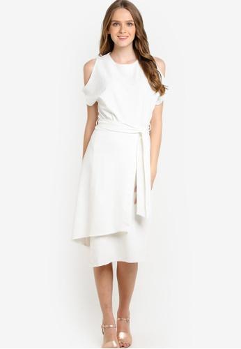 Buy CLOSET Kimono Style Front Tie Wrap Dress   ZALORA Singapore