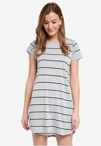 Cotton On grey Tina T-Shirt Dress DBF2BAA458840BGS_1