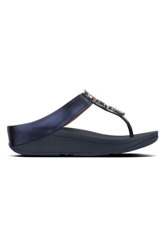 16d3d7de7d5 Fitflop blue Fitflop Fino Bejewelled Toe Post (Meteor Blue)  42FB9SH945C8CAGS 1