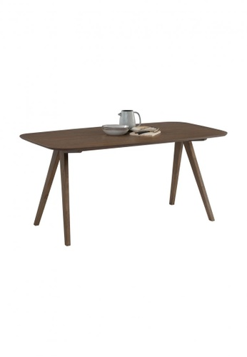 DoYoung brown NAAMAN (160cm) Dining Table 1A571HL27A7719GS_1