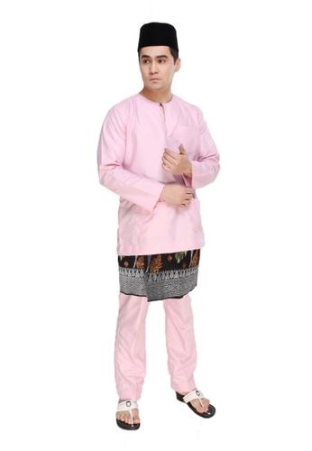 Amar Amran pink Baju Melayu Teluk Belanga CBFBCAAC44969CGS_1