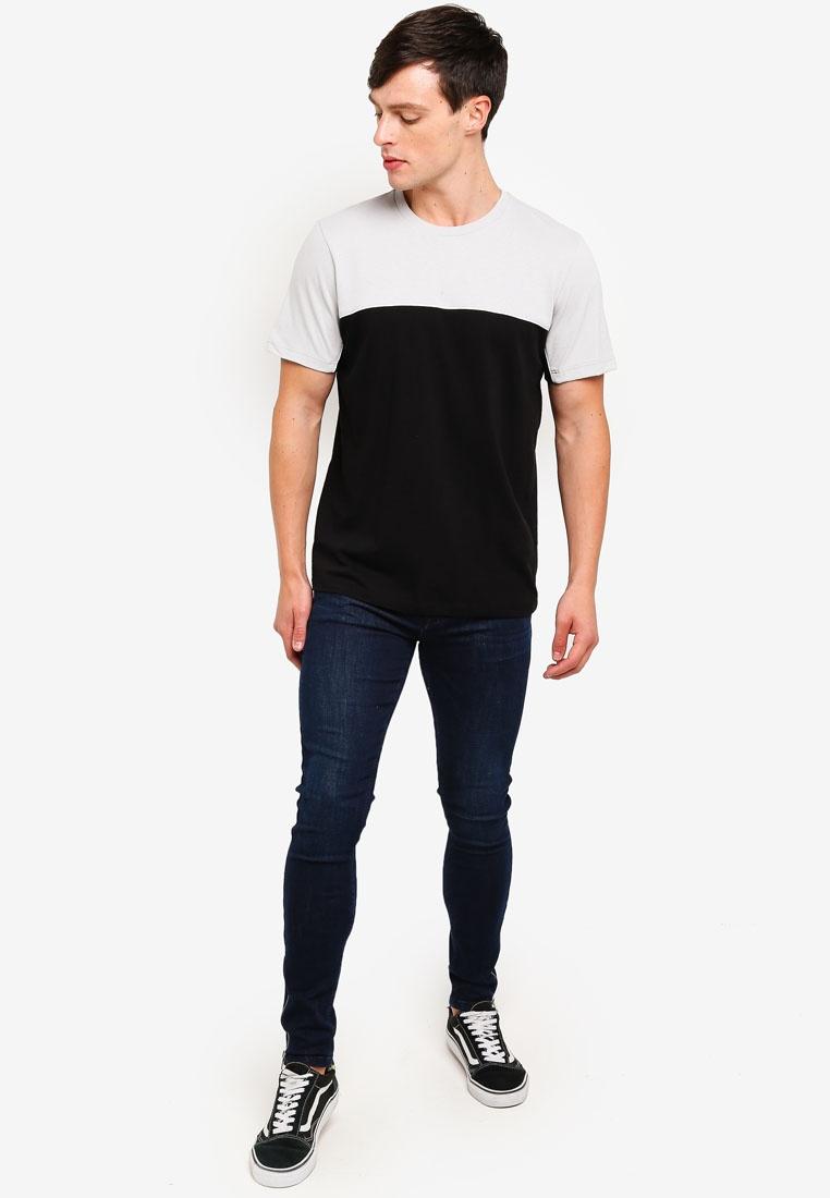 Black Black T 'Handle' Topman Shirt zZzPBYW