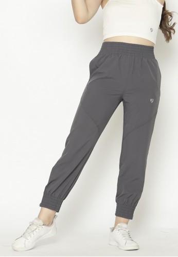 FITWEAR grey Fitwear - Woman Jogger Ignite Zip - Dark Grey 78840AAE33655BGS_1
