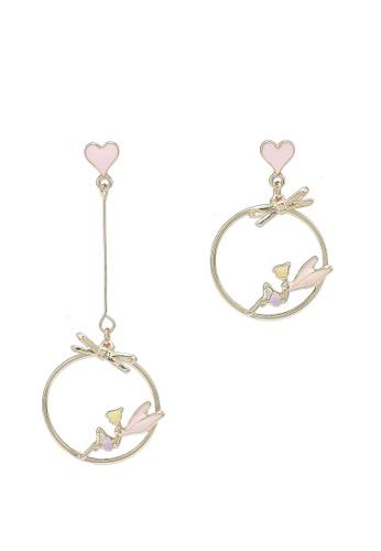 Saturation multi Love Fairy Drop Earrings E19EBAC9A1687CGS_1