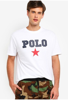 0131a1407 Polo Ralph Lauren white Short Sleeve Crew Neck T-Shirt C3EF1AA0EAC252GS_1