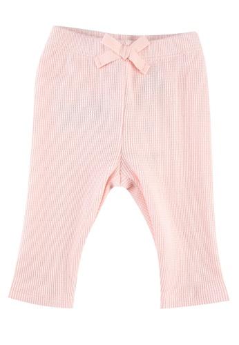 GAP pink Baby Mix & Match Waffle-Knit Pants FBDFCKA7B7344AGS_1