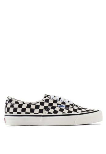 2acd19625f8a74 VANS black and white Authentic 44 DX Anaheim Factory Sneakers  965FFSH07C88CCGS 1