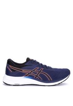 6aede90cec954 Asics blue Gel-Excite 6 Running Shoes 65407SHF281790GS 1