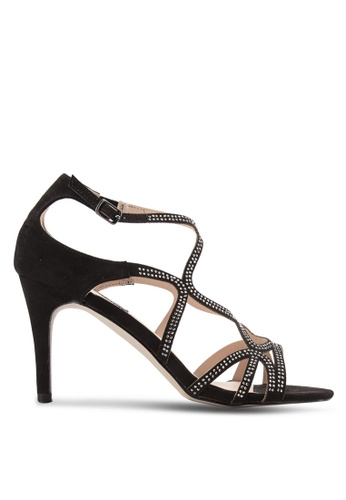 Dorothy Perkins black Black 'Rebekah' Gem Swirl Heels DO816SH34QCFMY_1
