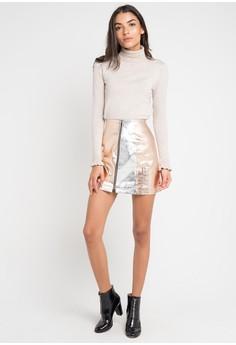 3e367a3aa 83% OFF French Connection Audrey PU Mini Skirt Rp 1.549.000 SEKARANG Rp  261.900 Ukuran 10
