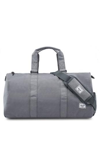 Herschel grey Novel Mid Volume Duffle Bag 60CBAAC86E42AAGS_1