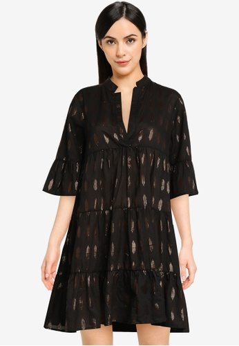 Vero Moda black Morro Short Dress 069D4AAA120931GS_1
