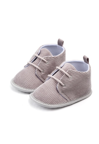 RAISING LITTLE grey Walkie Shoes - Gray 0EDD4KS3BE2918GS_1