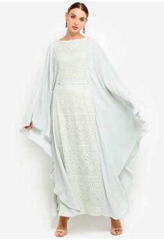 9a66b6f501 35% OFF Zalia Lace Kaftan Dress RM 265.00 NOW RM 171.90 Sizes XS S M L XL