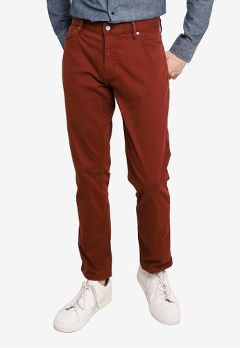 Banana Republic brown Slim Flyweight Traveler Pants 3B9C7AA3504E73GS_1