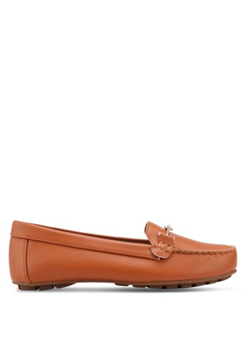 VINCCI brown Casual Loafers 9E939SHCC402AAGS_1