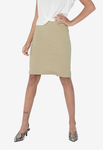 ONLY beige Tina Skirt E6F6DAA32AEB43GS_1