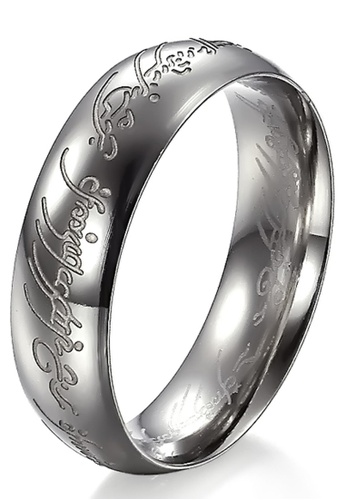 Trendyshop silver Silver Evil Ring TR116AC2UKJMHK_1